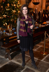 Amanda Lamb - Hogwarts In The Snow Launch @ Warner Bros. Studio Tour London in Watford - 11/12/15
