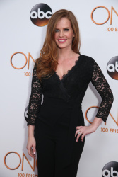 Rebecca Mader - Once Upon A Time 100th Episode Celebration @ Storybrooke Cannery in Vancouver - 02/20/16