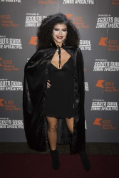 Karen Harding - KISS FM Haunted House Party @ SSE Arena in London - 10/29/15