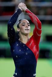 Aly Raisman - Rio 2016 Olympics Games: Team Qualifications @ the Arena Olimpica do Rio in Rio de Janeiro - 08/07/16