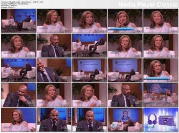 Meredith Vieira - Steve Harvey - 5-19-14