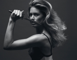 Doutzen Kroes - Mert Alas & Marcus Piggott Photoshoot for Double Magazine Spring/Summer 2016