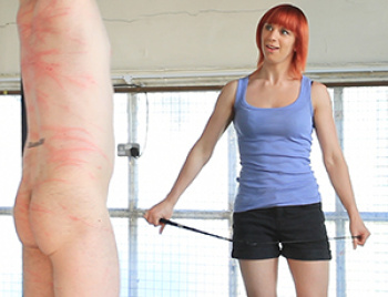 Young Mistress Lucy Gives A Whipping