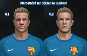 Download Marc-André ter Stegen PES 14 Face by sunbast