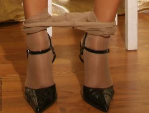 Name: Stockings, Nylon, Tights, Fetish and Milf 08.03