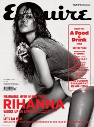 Rihanna Looking Hot in Esquire Magazine December 2014