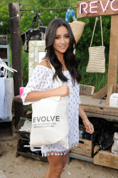 Shay Mitchell - REVOLVE Pop-Up Launch Party in Montauk 7/3/15
