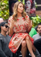 Stacy Keibler - Extra at the Grove 4/17/13