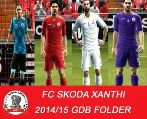 Download PES 2013 FC Skoda Xanthi 2014/15 GDB by argyris