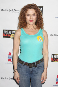 Bernadette Peters - 19th Annual Broadway Barks Animal Adoption Event, New York (7/8/17)