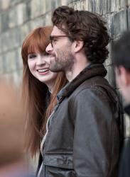 Карен Гиллан, фото 195. Karen Gillan - Set of 'Not Another Happy Ending' in Glasgow, Scotland - 7/20/12, foto 195