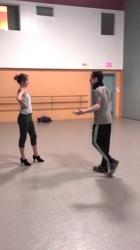 Amy Acker - 'SEXY' Salsa Dance, BTS - Nutcracker Christmas (V/C)