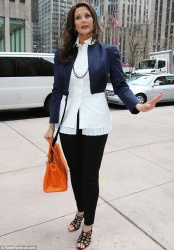 Lynda Carter - out in NY 4/23/13