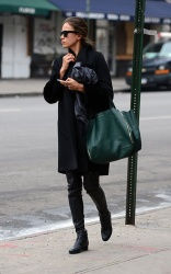 Irina Shayk - out and about in NYC 1/28/13