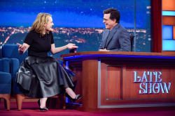 Elisabeth Moss - The Late Show with Stephen Colbert: April 20th 2017