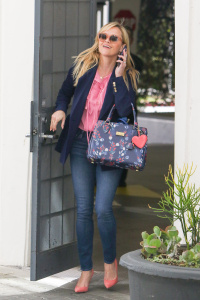 Reese Witherspoon - Outside Her Office in Beverly Hills - February 28th 2017
