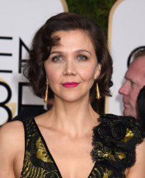 Maggie Gyllenhaal - 73rd Annual Golden Globe Awards @ the Beverly Hilton Hotel in Beverly Hills - 01/10/16