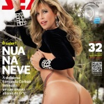 Gatas QB - Fernanda Corbari Revista Sexy Setembro 2013 Edição de Coleccionador