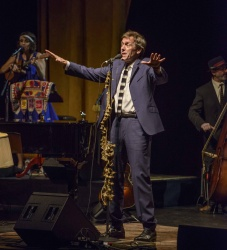 Hugh Laurie performs with the Copper Bottom Band @ Danforth Music Hall in Toronto Oct. 21,