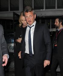 Sean Penn - Charlize Theron and Sean Penn - seen leaving Royal Festival Hall. London - February 16, 2015 (153xHQ) XixMgnqb
