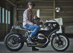 customised BMW R nineT