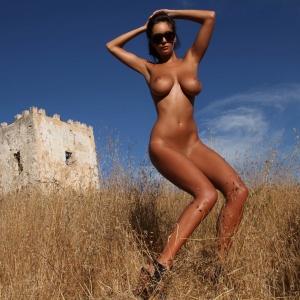 apasionado mujer madura desnudo en Sabadell