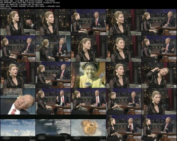 Jessica Biel - Late Show with David Letterman - 7-22-05