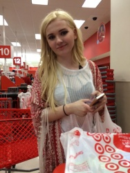 Abigail Breslin Shopping at Target in New Orleans - 3/19/15
