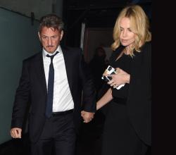 Sean Penn - Charlize Theron and Sean Penn - seen leaving Royal Festival Hall. London - February 16, 2015 (153xHQ) WYOerpqE