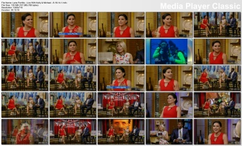 Lana Parrilla - Live with Kelly & Michael - 8-18-14