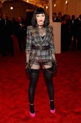Madonna - 2013 Met Gala in NYC 5/6/13