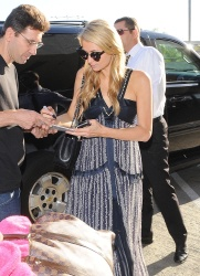 Paris Hilton - Arriving at LAX airport in Los Angeles July 23, 2014