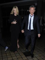 Sean Penn - Charlize Theron and Sean Penn - seen leaving Royal Festival Hall. London - February 16, 2015 (153xHQ) Q6luQrxA