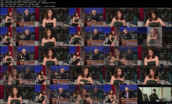 Tina Fey - Late Show with David Letterman - 9-5-14