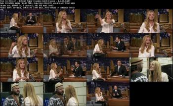 Cat Deeley - Tonight Show starring Jimmy Fallon - 4-2-14