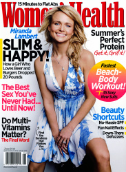 Miranda Lambert x4 Women's Health June, 2014
