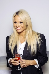 Pamela Anderson - Raw Book Promotion @ Diamond Club in Cologne - 09/26/15