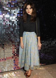 Jenna Coleman - Isabella Blow: Fashion Galore! exhibiton in London 11/19/13
