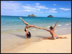 Nina Dobrev in a Bikini in Hawaii - 1/2/16 Instagram Pic