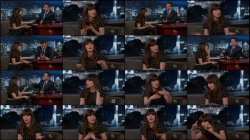 Zooey Deschanel - Jimmy Kimmel - 11-11-13