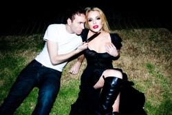 Lindsay Lohan - Tyler Shields Photoshoot