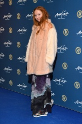 Lily Cole - Cirque Du Soleil Amaluna @ Royal Albert Hall in London - 01/19/16