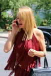 Uma Thurman On the set of the new movie 'The Brits are Coming' in New York July 29-2015 x42