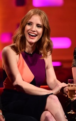Jessica Chastain - The Graham Norton Show Series 19 Episode 2
