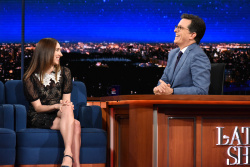 Zoe Kazan - The Late Show with Stephen Colbert: June 26th 2017