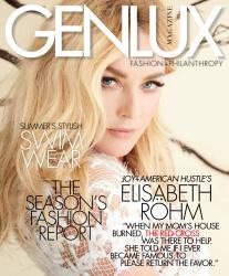 Elisabeth Rohm -                Genlux Magazine Summer 2017 Embry Lopez Photos.