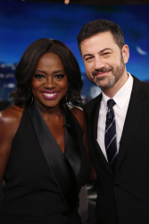 Viola Davis - Jimmy Kimmel Live: February 16th 2017