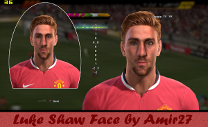 Download Luke Shaw Face Pes 2013 by amir27