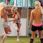 Gatas QB - Europeu Futebol Feminino Sem Roupa 2013