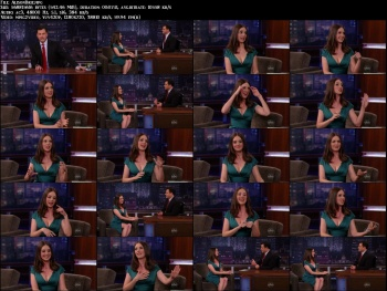 Alison Brie - Jimmy Kimmel (4-14-2011) [HD VIDEO] *re-up by request